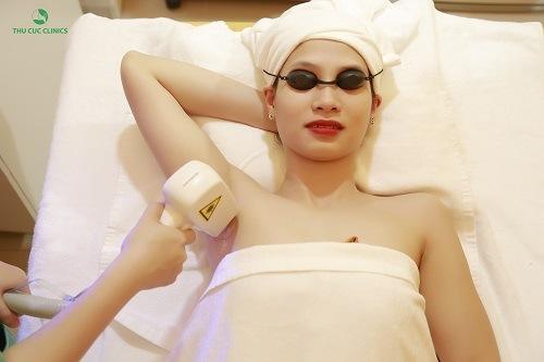 Triệt lông bằng công nghệ Laser Diode đem đến hiệu quả tối ưu cho khách hàng