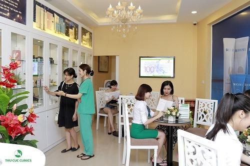 Dịch vụ triệt lông nách tại Thu Cúc Clinics nhận được quan tâm của đông đảo khách hàng