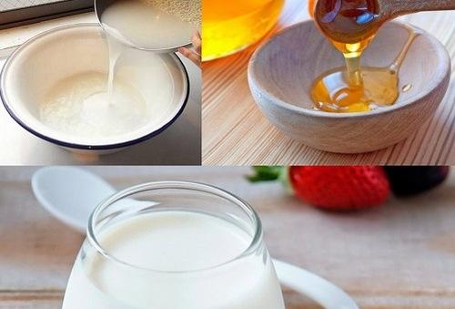 Để đạt hiệu quả tối ưu các nàng nên kết hợp nước vo gạo cùng một số nguyên liệu khách như mật ong, sữa tươi...