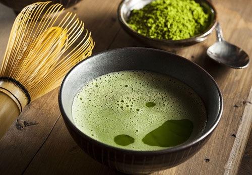 Trà xanh là loại nguyên liệu vô cùng quen thuộc trong cuộc sống của người Nhật.