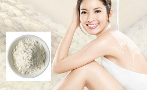 Tắm trắng bằng bột cám gạo nguyên chất cho hiệu quả trắng da an toàn.
