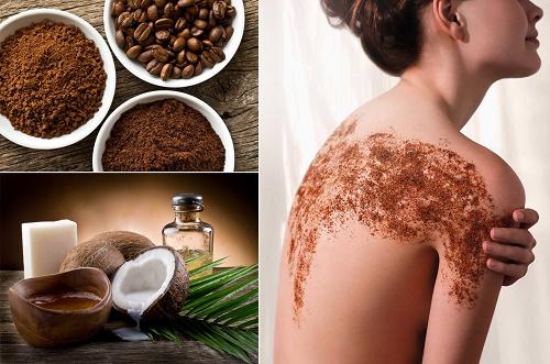 Không chỉ dưỡng da mặt, cafe còn tẩy da chết và dưỡng trắng toàn thân