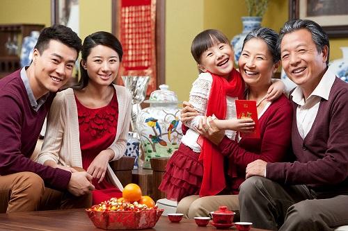 Tết là thời gian quây quần bên gia đình và relax bản thân