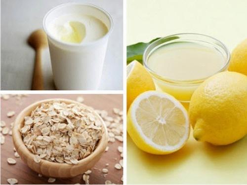 Trộn đều bột cám gạo nguyên chất với sữa chua không đường và nước cốt chanh, bạn có được công thức tắm trắng da cực hiệu quả.