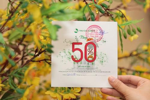 Mỗi khách hàng đăng ký dịch vụ đều được tham gia Hái lộc với cơ hội nhận Voucher giảm đến 50% chi phí làm đẹp hay 100% sản phẩm Bioline – Jato cao cấp khi mua thẻ Gift