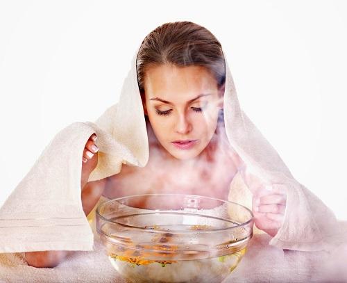 Xông hơi thải độc và làm sạch sâu để bắt đầu tiến trình phục hồi da