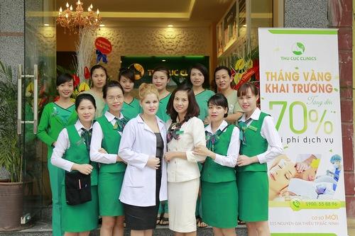 Đội ngũ chuyên gia và kỹ thuật viên tại Thu Cúc Clinic Bắc Ninh