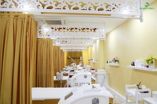 Máy móc hiện đại, tiên tiến là ưu điểm vượt trội của Thu Cúc mà rất ít cơ sở spa làm đẹp ở Bắc Ninh có được.
