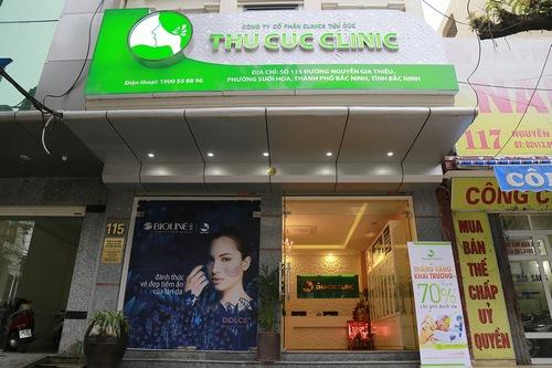 Thu Cúc Clinic tọa lạc tại địa chỉ 115 Nguyễn Gia Thiều, phường Suối Hoa là một trong số những spa làm đẹp ở Bắc Ninh được yêu thích nhất.