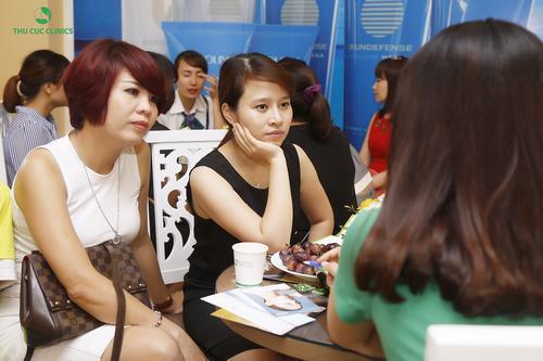 Thu Cúc Clinics tự hào là người bạn đồng hành tin cậy của phái đẹp Việt trong công cuộc hoàn thiện nhan sắc và tìm đến hạnh phúc.