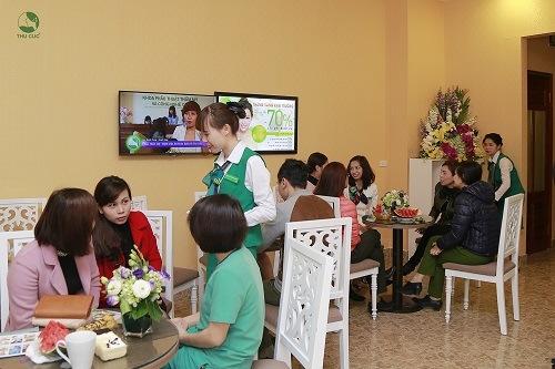 Dịch vụ trị viêm nang lông tại Thu Cúc nhận được quan tâm đông đảo khách hàng