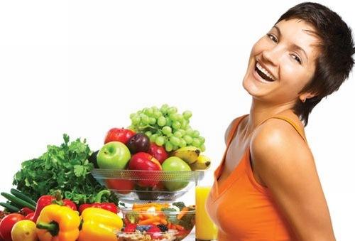 Xây dựng chế độ ăn uống giúp hạn chế được tình trạng mụn từ bên trong