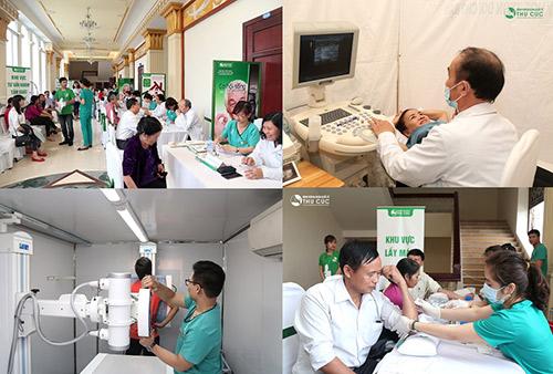 """Đông đảo người dân Thanh Hoá đến hưởng ứng chiến dịch phát hiện sớm ung thư """"Không ai phải sợ"""""""