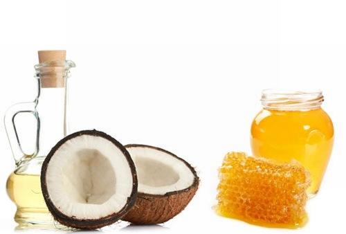 Hỗn hợp mật ong dầu dừa có tác dụng trị rạn da vô cùng hiệu quả