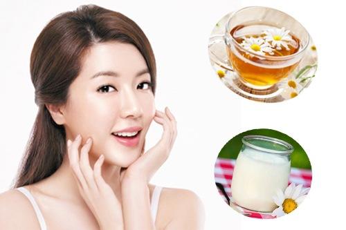 Chăm sóc da khô bằng sữa chua là phương pháp làm được đơn giản được rất nhiều chị em tin chọn