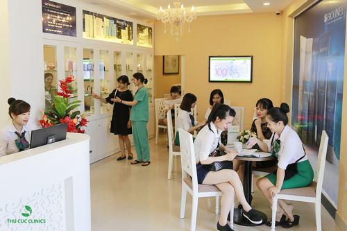 Thu Cúc Clinics là thương hiệu chăm sóc và điều trị thẩm mỹ da uy tín hàng đầu toàn quốc, được hàng triệu khách hàng tin chọn.