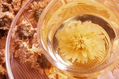 Trà hoa cúc cũng là một trong những cách triệt lông chân an toàn, đơn giản được nhiều người áp dụng
