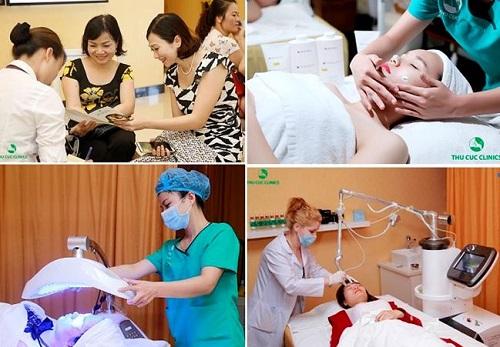 Cùng với các cơ sở làm đẹp khác trên toàn hệ thống, Thu Cúc Clinics Bắc Ninh hiện cung cấp đa dạng giải pháp chăm sóc và điều trị thẩm mỹ da chất lượng