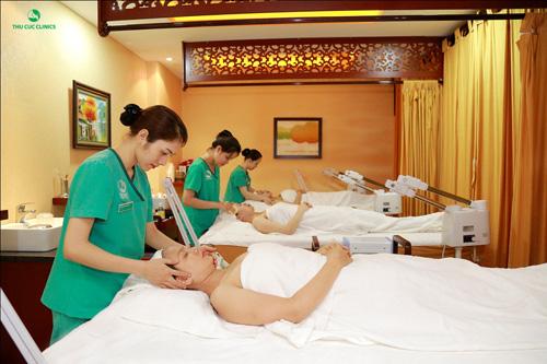 Trong ngày VÀNG 11/03 này, Thu Cúc Clinic Bắc Ninh dành rất nhiều món quà KHỦNG cho khách hàng khi đến làm đẹp.