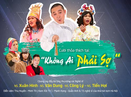 """""""Không ai phải sợ"""" sẽ bắt đầu hành trình đến với các khách hàng của Thu Cúc Clinics tại Bắc Ninh (11/3), Thanh Hóa (25/3) và các tỉnh thành khác trên cả nước trong năm 2017"""