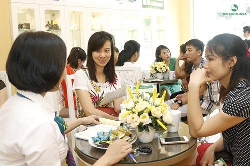 Dijhc vụ tẩy lông nách tại Thu Cúc Clinics nhận được quan tâm đông đảo khách hàng