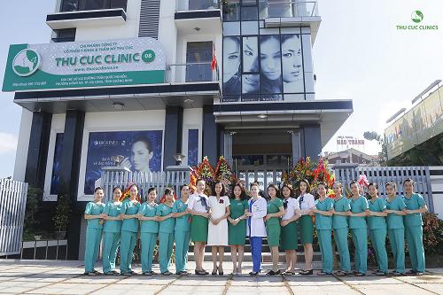 Thu Cúc Clinics hiện là thương hiệu chăm sóc và điều trị thẩm mỹ da uy tín hàng đầu với 16 cơ sở khang trang tại 11 tỉnh thành/ thành phố trên 3 miền tổ quốc
