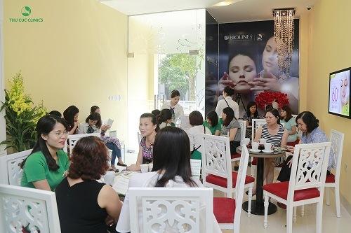 Dịch vụ tẩy lông tại Thu Cúc Clinics nhận được quan tâm đông đảo khách hàng