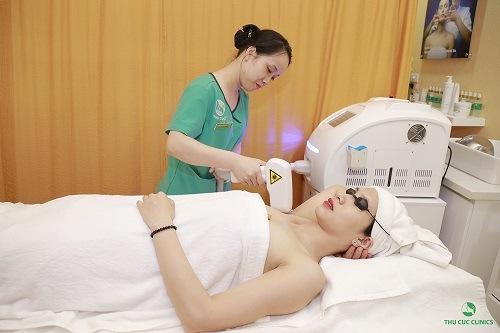 Triệt lông nách bằng công nghệ Laser Diode đem đến hiệu quả tối ưu cho khách hàng