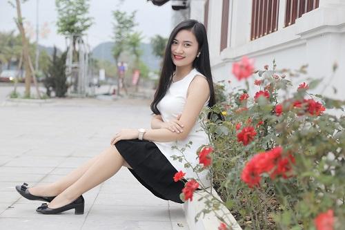 """Cô bạn Hải Anh ( Quảng Ninh) sau khi trải nghiệm liệu trình triệt lông Laser Diode tại Thu Cúc Clinics đã tự tin """"thả dáng"""" thách thức nắng hè"""