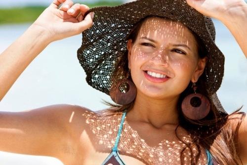 Bảo vệ da chống tác hại của tia UV trong ánh nắng mặt trời