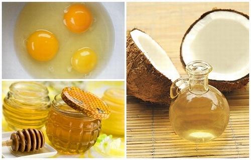 Dầu dừa, trứng gà mật ong là hỗn hợp tắm trắng hiệu quả