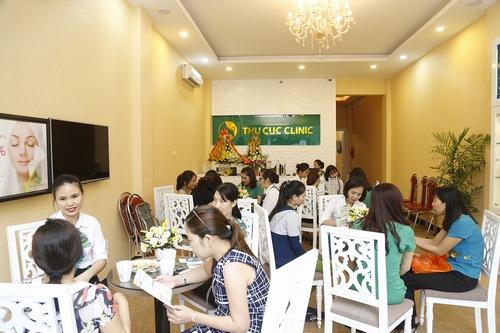 Dịch vụ tắm trắng tại Thu Cúc Clinics nhận được quan tâm của đông đảo khách hàng