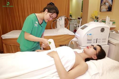 Nếu không có thời gian thực hiện, triệt lông tay bằng Laser Diode tại Thu Cúc Clinics là gợi ý lý tưởng dành cho bạn.