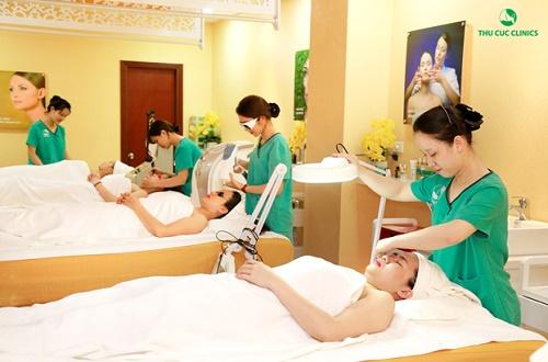 Đa dạng các dịch vụ chăm sóc và điều trị thẩm mỹ da được Thu Cúc Clinics khuyến mại KHỦNG trong tháng 4