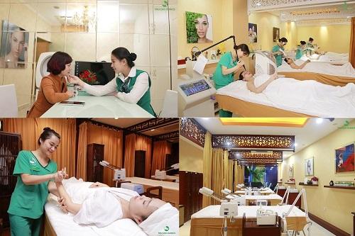 Thu Cúc cung cấp đa dạng dịch vụ chăm sóc và điều trị thẩm mỹ da với cơ sở khang trang và đội ngũ nhân lực chất lượng