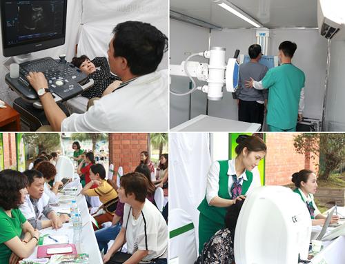 Người dân tại Quảng Ninh được tầm soát ung thư và tư vấn làm đẹp miễn phí.