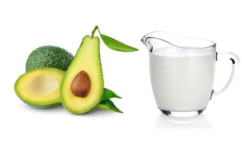 Sữa tươi, bơ có khả năng dưỡng trắng da hiệu quả