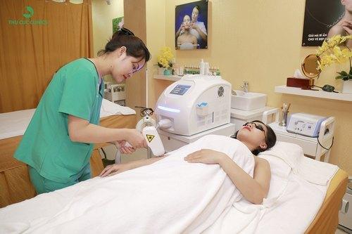 Triệt lông bằng Laser Diode tại Thu Cúc Clinics là sự lựa chọn của rất nhiều chị em.