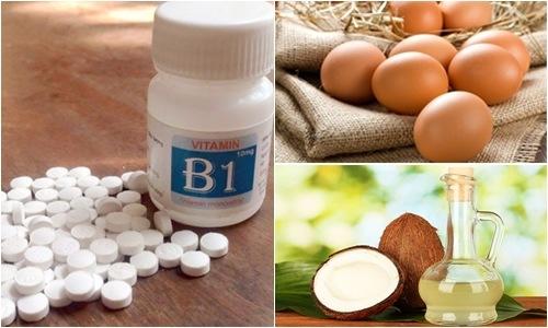 Kết hợp vitamin b1 cùng một số nguyên liệu khác để tăng hiệu quả làm đẹp