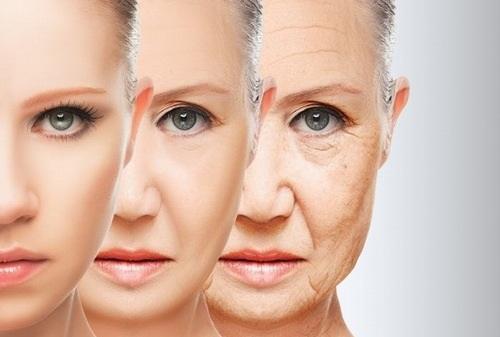 Làn da nhanh chóng bị lão hóa nếu không được chăm sóc cẩn thận