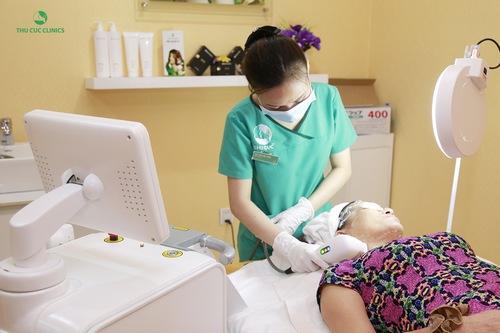 Trẻ hóa da bằng công nghệ Hifu giúp khách hàng đạt được hiệu quả tối ưu