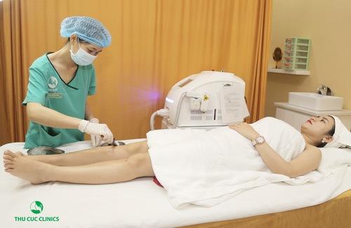Triệt lông chân bằng công nghệ cao đem đến hiệu quả tối ưu cho khách hàng