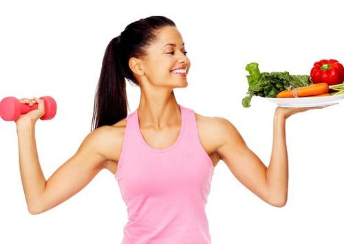 Kiểm soát cân nặng và duy trì chế độ ăn uống, tập luyện khoa học