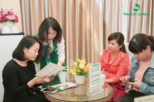 Dịch vụ trị rạn da tại Thu Cúc Clinics nhận được quan tâm của đông đảo khách hàng