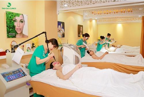 Thu Cúc Clinics là địa chỉ làm đẹp uy tín được hàng triệu chị em tin chọn