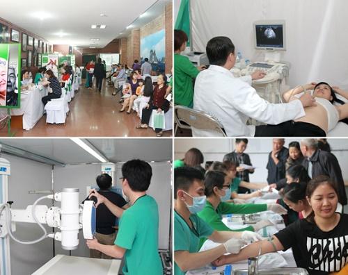 Bên cạnh đó, người dân tại các tỉnh thành còn được đội ngũ giáo sư, bác sĩ đầu ngành của Bệnh viện ĐKQT Thu Cúc tư vấn sức khỏe và tầm soát ung thư hoàn toàn miễn phí