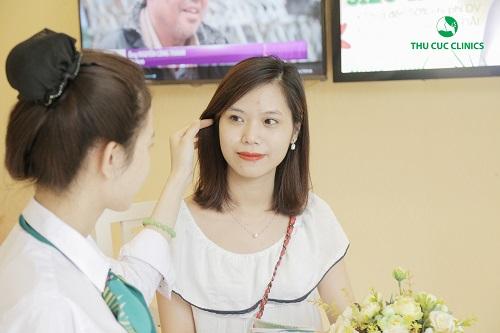 Nhiều khách hàng tìm đến Thu Cúc Clinics để trải nghiệm liệu trình làm đẹp tiên tiến