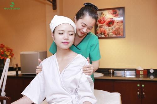 Cảm nhận sức sống Thu Cúc Clinics giúp khách hàng thư giãn cơ thể ở mức tối đa