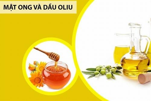 Làm trắng da bằng mật ong, dầu oliu