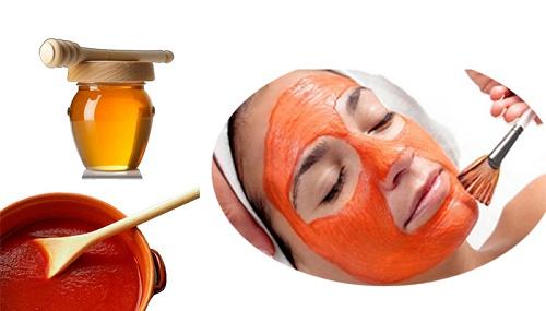 Công thức trị tàn nhang bằng cà chua và mật ong giúp thổi bay tàn nhang trên da nhanh chóng.